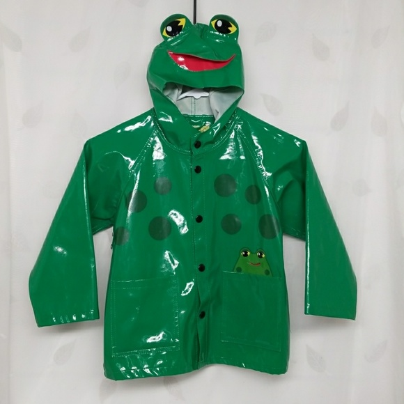 6835f7d57 Adorable Kids Frog Raincoat